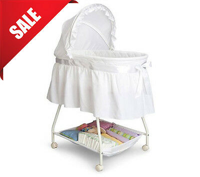 Bassinet Baby Sleeper Cradle Crib Portable Infant Bed Nursery Newborn Canopy NEW