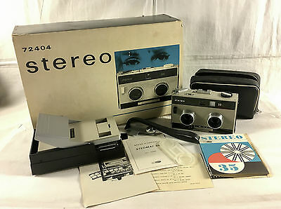 Vintage Camera - Meopta - Stereo 35 - Almost Mint - Rare Original Packing!!!