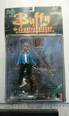 Exclusive Blue Jacket Buffy Vampire Slayer Moore Action Collectables Figure NEW