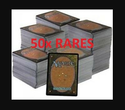50x verschiedene Rares Magic the Gathering Karten MTG LOT Draft Booster Repack