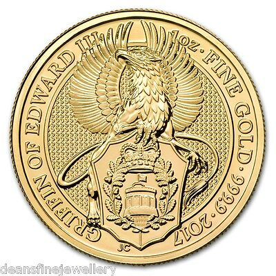 2017  The Queens Beasts - The Griffin 1oz Gold Coin