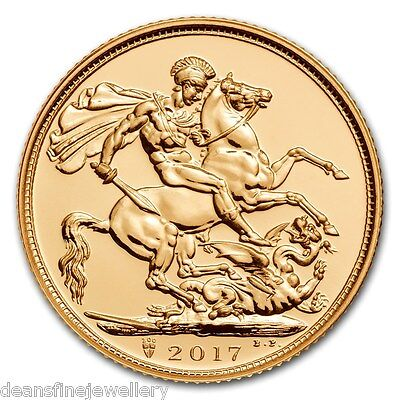 2004  Gold FULL Sovereign Queen Elizabeth II OLD HEAD (Carded)