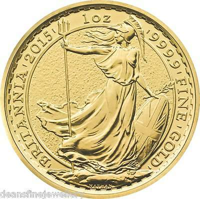 2015 Gold Britannia 1oz Coin