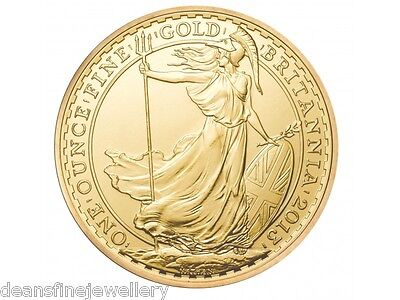 2013 1oz Gold Britannia 999.9 £100 Coin