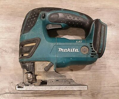 Makita 18V Lxt Battery Jig Saw Bare Unit Well Used But Good Working Order Djv180