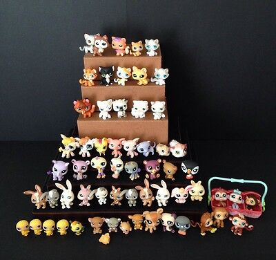 Littlest Pet Shop LPS Lot Cats, Dogs Rare Pets And Accessories