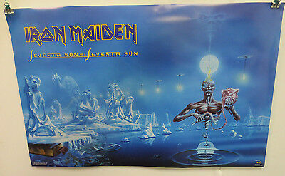 Iron Maiden Poster By Funky Enterprises Rock & Roll Metal Seveth Son Derek Riggs