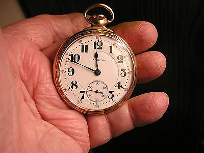 HAMILTON 992 Railroad Pocket Watch