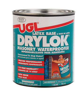 UGL 27512 1 Quart White Drylok® Latex Base Masonry Waterproofer