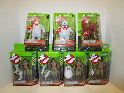 7 NEW 2016 Ghostbusters Movie 6 inch Collector Action Figure Lot GHOSTS LIGHT UP