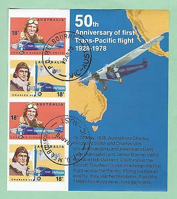 mjstampshobby 1978 Australia The First Trans Pacific Flight MNH OG (Lot2941)