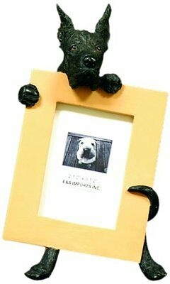 Great Dane Black Dog Picture Photo Frame