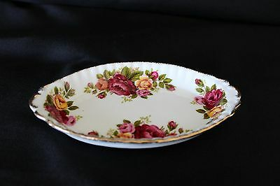 """Cottage Rose"" china dish"