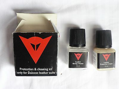 Dainese leather suit protection and cleaning kit