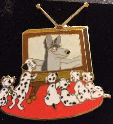 Rare Hard To Find Disney Auction PINS Limited Edition 500 Damatians Pups TV