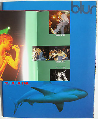 BLUR BOOK Tour Programme 1995 NEW Great Escape Tour 24 Pg + Fold-out Cover