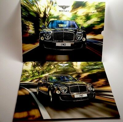 Bentley 2014 The Mulsanne And The New Mulsanne Speed Car Brochure