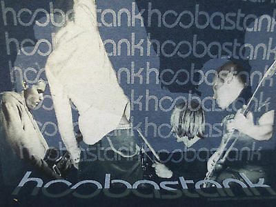 Hoobastank Large Shirt The Reason Rock & Roll Band Every Man For Himself Forever
