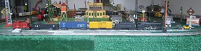 Lionel #2035 O Scale Steam Locomotive With A 2466Wx Tender With 4 Freight Cars