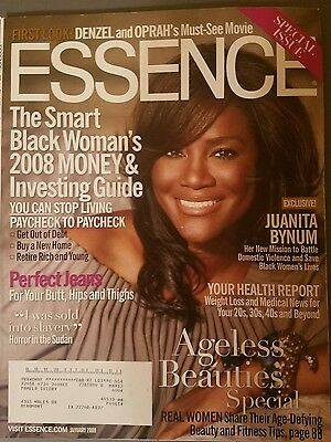 """Essence Magazine January 2008 """"Special Issue"""" Featuring JUANITA BYNUM"""