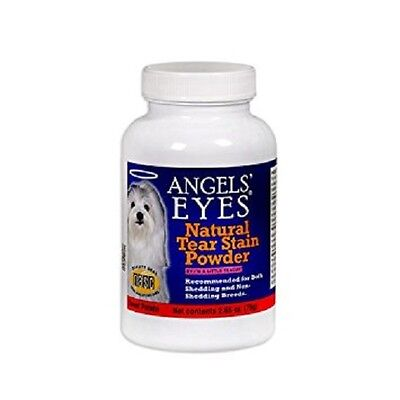 Angels Eyes Natural Tear Stain Remover for Dogs 2.65 oz 75g Sweet Potato FLAVOR