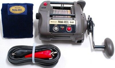 Panasonic PANA REEL S-2 Electric Reel S2 Excellent