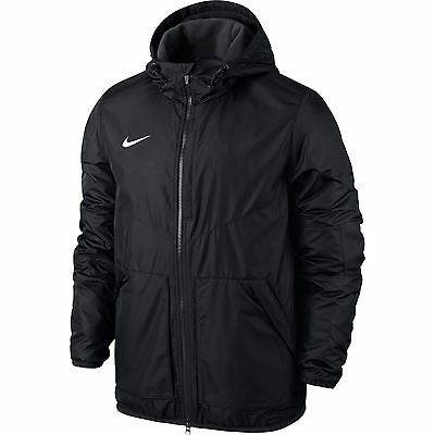 FOOTBALL TEAM JACKET NIKE TEAMWEAR RANGE MENS S to XXL SIZES BLACK NEW STOCK