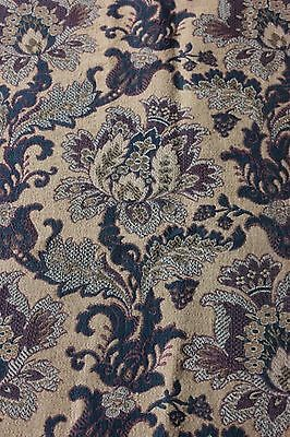 French Antique 19thC Jacobean Indienne Woven CottonJacquard Fabric~Frame Layout*