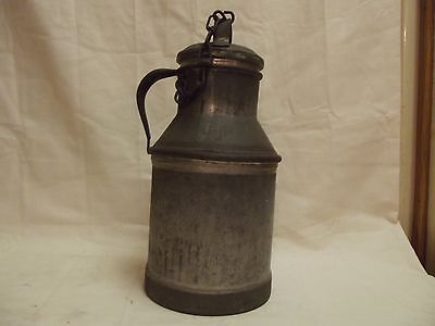 Vintage 4 Qt Buhl Metal Dairy Cream Can Rare made in Detroit