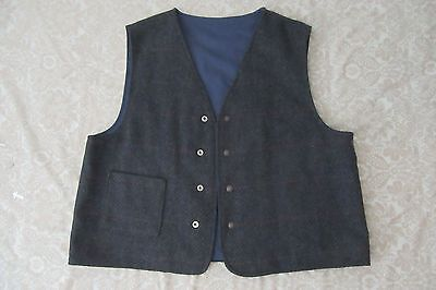 vintage west cal. 45 wool vest