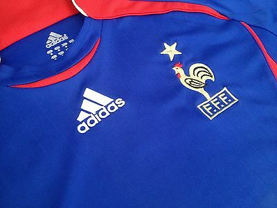 France ADIDAS 2006 football Home jersey mens size M