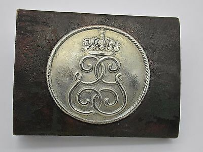 WW1 German Uniform  Uniform Belt Buckle  Saxony Battalion