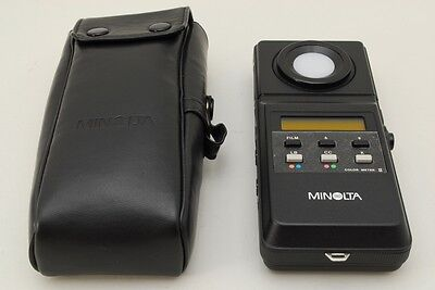 [NEAR MINT ] Minolta Color Meter II Flash Color receptor from Japan 0171