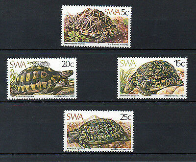 South West Africa 1982 Tortoises MNH set