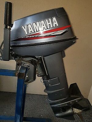 25hp yamaha outboard motor electric start ( can freight Australia wide )