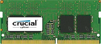 Crucial 16GB DDR4 2400 MT/s (PC4-19200) SODIMM 260-Pin - CT16G4SFD824A