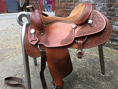 Billy Cook Millennium Pro Reiner Western Saddle