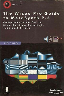 Wizoo Pro Guide to MetaSynth 2.5 Book and CD Out of Print Collectable
