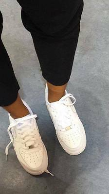 Nike Air force 1 lows all white womens size 8