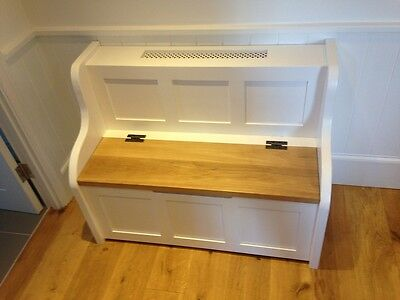 4 ft Radiator Cover Monks Bench/Settle/Pew With Storage (MADE TO ANY SIZE)