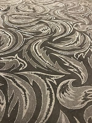 4.5 Sq Ft Black And Grey Patterned Genuine Italian Leather Skin /Hide Suede Feel