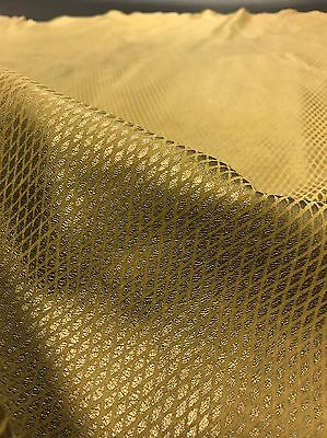 6.3 Sq Ft Metallic Gold Patterned Genuine Italian Leather Skin / Hide
