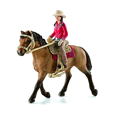 Schleich Western Rider Model Horse World Of Nature Farm Horse Toy Figurine New