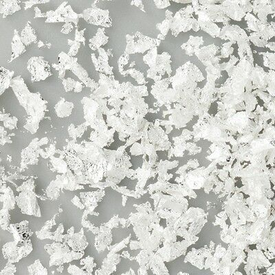 New 1x 5mm Silver Leaf Powder - 100% Natural/Edible Silver, Made In Japan