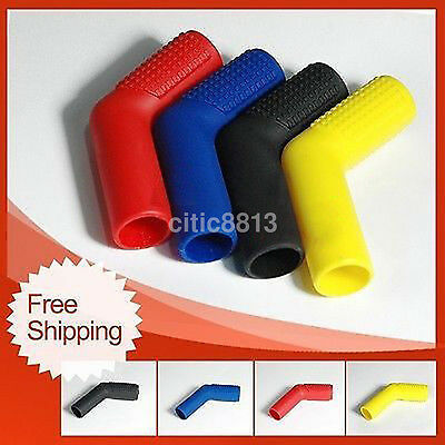 Black Rubber Shifter Sock Boot and Shoe Protector Peg Shift Cover For Motorcycle