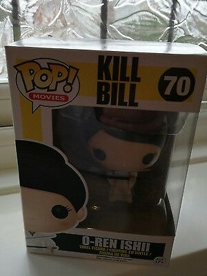 O-Ren Ishii Kill Bill  #70 Funko Pop Vinyl   *Very Rare**