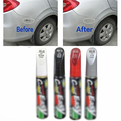 1 x DIY Car Clear Scratch Remover Touch Up Pens Auto Paint Repair Pen 4 colors