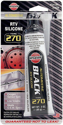 Automotive BLACK 270 RTV Silicone tube Gasket Maker Sump Sealant Seal 85g 27039