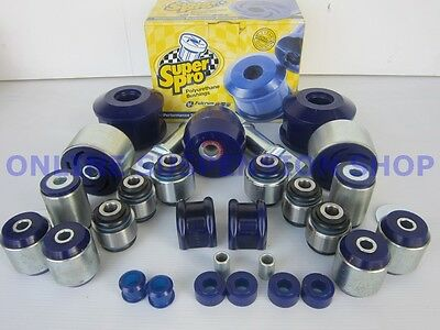 Suits Ford Falcon BA SUPER PRO Rear Suspension Bush Kit SUPERPRO