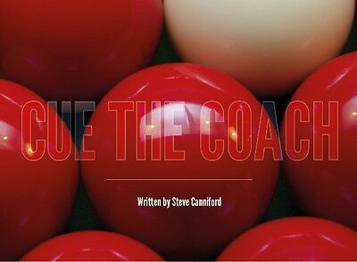 Snooker Book - Cue the Coach - an easy to follow book on how to play snooker